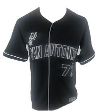 NEW Men's Ultra Game San Antonio Spurs Baseball Jersey Various Sizes Black