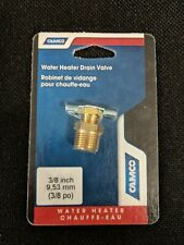 """Camco 11683 3/8"""" Water Heater Drain Valve"""