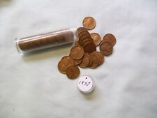 1937 Wheat Cent Roll ( 50 coins)