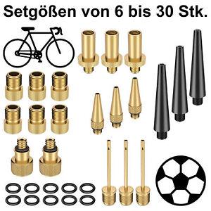 Ventiladapter Set Ventil Adapter Fahrrad SV Sclaverand auf AV Autoventil Dunlop