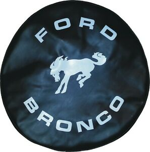 "SpareCover® ABC Series - FORD BRONCO 35"" Black Heavy Duty Vinyl Tire Cover"
