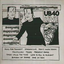 "UB40 "" UB40 LIVE "" LP SIGILLATO VIRGIN ITALY 1982"