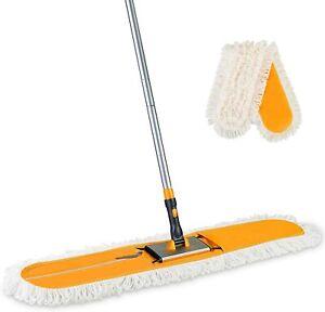 Yocada commercial industrial cotton mop dust mop 59-inch telescopic handle