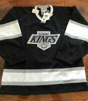 NEW+Tags 100% Authentic Pro 54 90s Era LA Kings Starter Jersey
