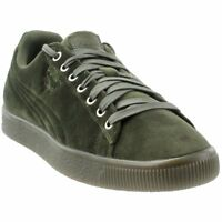 Puma Clyde Velour Ice  Casual   Sneakers - Green - Mens