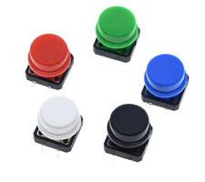 lot x10 Bouton-poussoir Tactile momentané, 12x12x7.3mm, interrupteur 4 broches