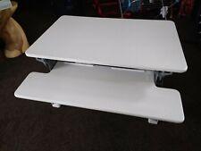YO-YO DESK 90-Height Adjustable Standing Desk (WHITE).Superior sit-stand Desk.