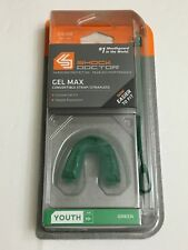 Shock Doctor Gel Max Convertible Strap / Strapless Mouthguard Youth Green
