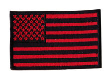 Amarican Flag  Embroidered Iron On Motorcycle Biker Vest Patch P12