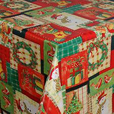 Wachstuch Tischdecke Meterware Weihnachten 01186-00 eckig rund oval