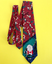 Charlie Brown Red Neck Tie On the Telephone