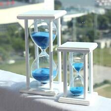 30/60 minutos Perfecto Madera De Arena Cristal Reloj De Arena reloj