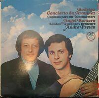 RODRIGO CONCIERTO DE ARANJUEZ LP  ROMERO / PREVIN Angel QUADRAPHONIC S-37440