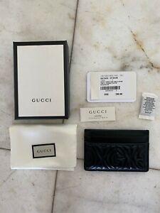 Gucci Credit Card Black Cardholder