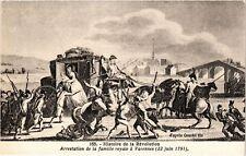 CPA AK Militaire Revolution Arrestation de la famille royale 1791 (697934)
