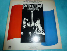 Eric Blaus - Jacques Brel / 1974 Atlantic 2 LP NICE