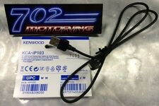 """KENWOOD DNX891HD """"AUTHENTIC"""" KENWOOD KCA-IP103 LIGHTNING TO USB CABLE / APPLE 5S"""