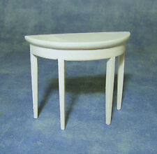 1:12 Scale White Side Wall Table Tumdee Dolls House Miniature Hall Furniture 170