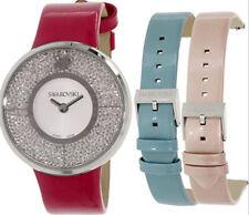Swarovski Crystalline Watch Set with Interchangeable Straps