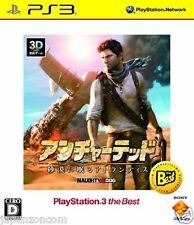 Used PS3 UNCHARTED 3 SONY PLAYSTATION 3 JAPAN JAPANESE IMPORT