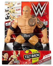 """WWE 3 COUNT CRUSHERS THE ROCK 8 SOUNDS & PHASES 14"""" TALL *NEW*"""