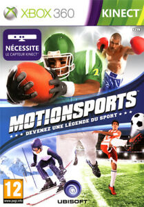 MotionSports kinect - XBOX 360 PAL / FR - Complet