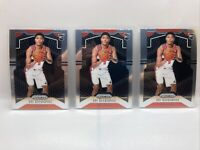 Rui Hachimura 2019-20 Prizm Base Rookie #255 Washington Wizards RC Lot Of 3