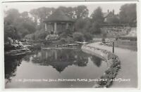 DONCASTER - Hexthorpe Flatts Bandstand - Arjay - 1958 used real photo postcard