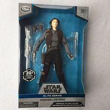 "Star Wars Disney Store Rogue One Elite Series Jyn Erso 10"" Premium Action Figure"