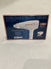 Conair 1875 Watt Worldwide Travel Hair Dryer with Smart Voltage Technology.New