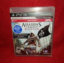 Assassin's Creed IV: Black Flag -- Target Edition (PlayStation 3 PS3, 2013)