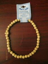 Good Luck Wooden Power Beads Create Fortune and Good Luck Necklace Natural Wood