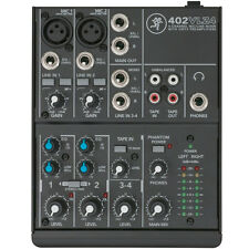 Mackie 402-VLZ4 4-channel Ultra Compact Mixer w/ Onyx Mic Preamps, New!