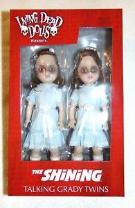 Living Dead Dolls THE SHINING TALKING GRADY TWINS