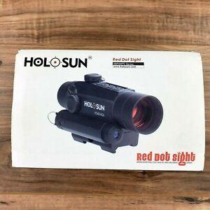 Holosun Infiniti HS401R5 1x30 Red Dot & Red Laser, 2 MOA LED, Quick Mount, Black