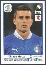PANINI EURO 2012- #326-ITALIA-ITALY-PARIS SAINT-GERMAIN-THIAGO MOTTA