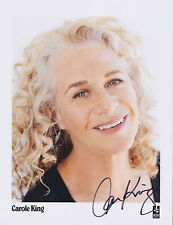 Carole King HAND SIGNED 8x10 Photo, Autograph, Beautiful, Tapestry, Songwriter B