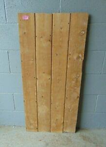 Reclaimed Pine Victorian  Cupboard Alcove Door  626