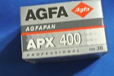 Agfa Agfapan APX 400 ASA 135mm film 36 Exposures professional Expired 07/2005