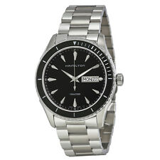 Hamilton Seaview Black Dial Stainless Steel Mens Watch H3751113
