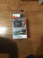 Sony HDR-AZ1VR Action Cam Mini Kit with Live View Remote Watch Brand New