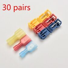 60X Fully Insulated Terminal Connectors Splice Lock Terminals Crimp Durable Tool