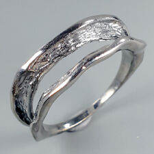 Handmade   925 Sterling Silver Ring Size 7.5/R115693