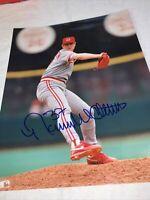 NORM CHARLTON Signed autograph Cincinnati Reds 8x10 Photo w/COA 1990 WS Champs