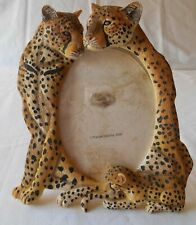 """Photo Frame 4"""" x 6"""" Cheetah Family Nature's Wild by Popular Imports Wall Table"""