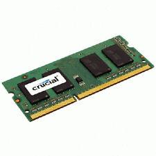 Memoria RAM Crucial velocità bus PC3-10660 (DDR3-1333) per prodotti informatici