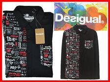 DESIGUAL Camicie Uomo M .  74 € AL PREZZO DI SALDI!  DE14 T1G