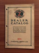"Fairbanks-Morse ""Z"" Farm Engines Dealer Catalog 1919, Farm Service Equipment"