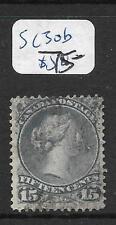CANADA (P0909B) LARGE QUEEN 15C SC 30 B     VFU