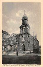 ST JOHN'S, NEWFOUNDLAND, CANADA, MAIN POST OFFICE, AYRE & SONS LTD PUB c 1930's